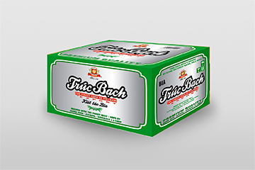 Thùng bia Trúc Bạch
